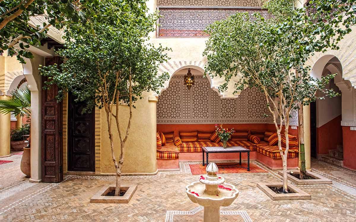 Rückzugsort im Riad Itrane
