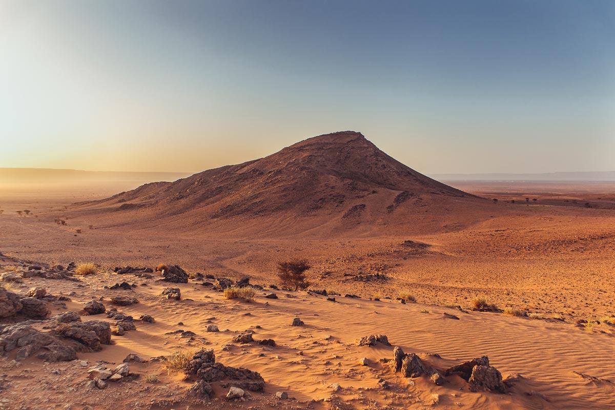 Auf dem Weg in die marokkanische Sahara