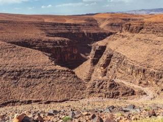 Atlasgebirge zwischen Ouarzazate und dem Draa-Tal