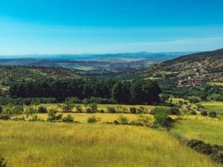 Ein grünes und fruchtbares Tal in Marokko