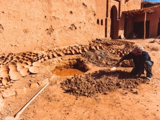 Handwerker in Marokko