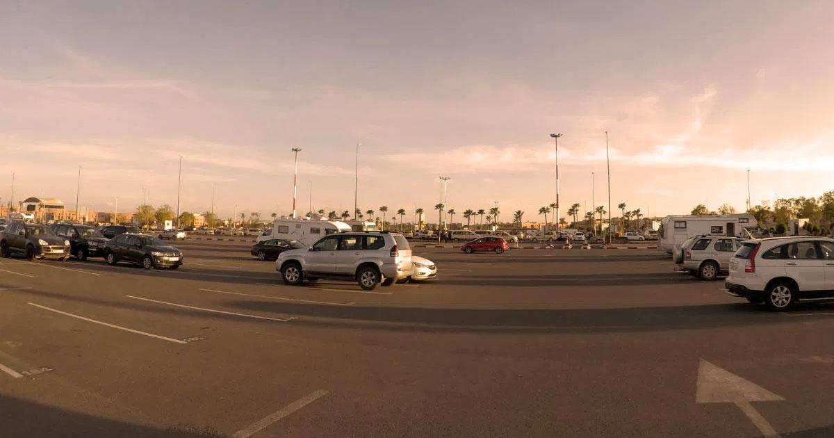 Marrakesch Mietwagen am Flughafen ohne Ticket