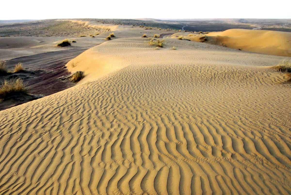 Wüste Karakum in Turkmenistan