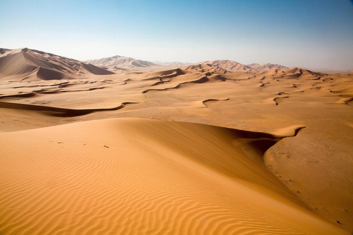 Die größte Sandwüste der Welt: Rub al-Kali