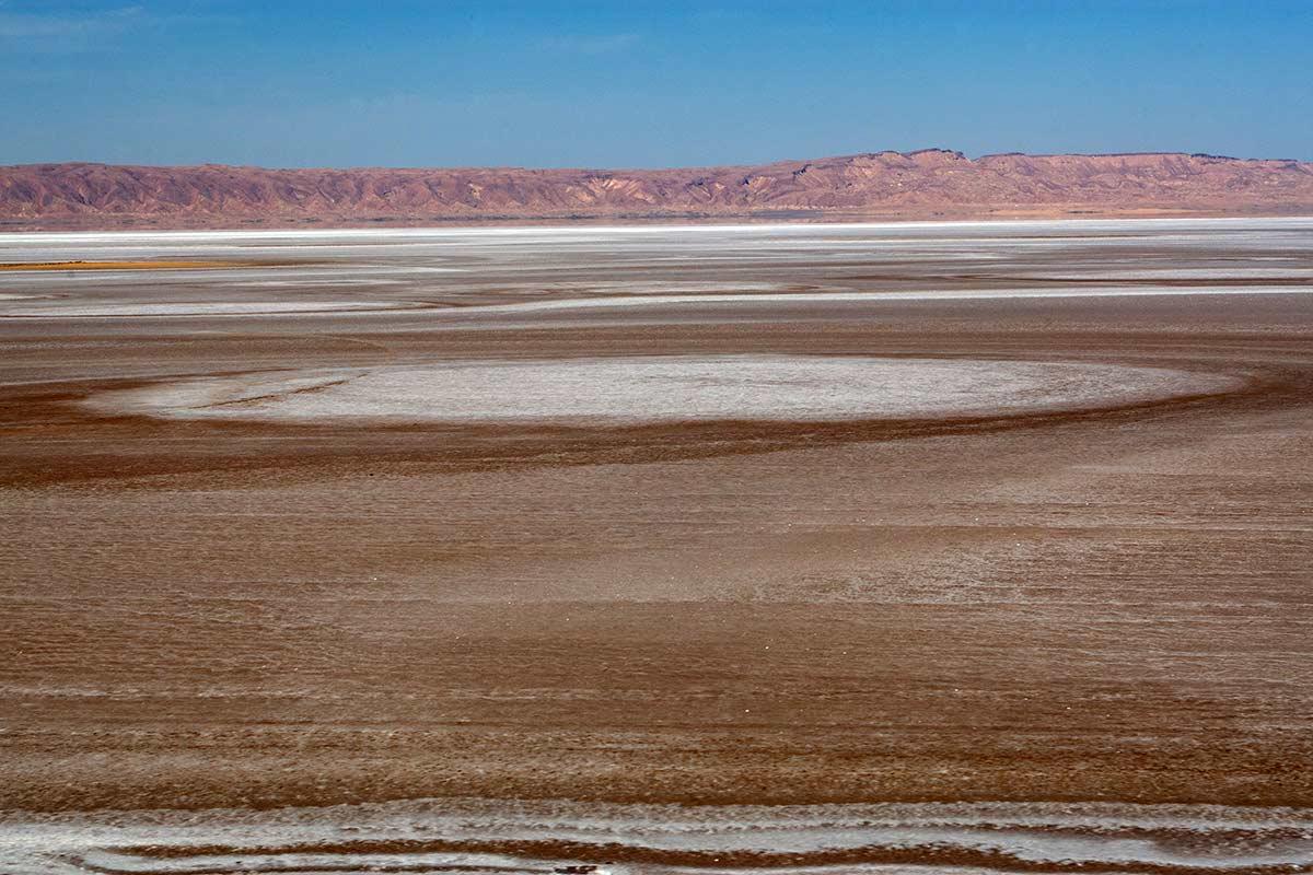 Chott el Djerid, Sahara Tunesien