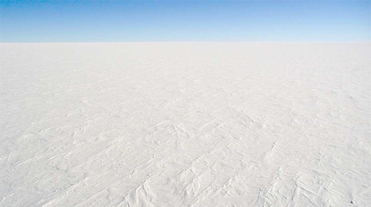 Nicht die Sahara, sondern die Anarktis ist die größte Wüste der Welt