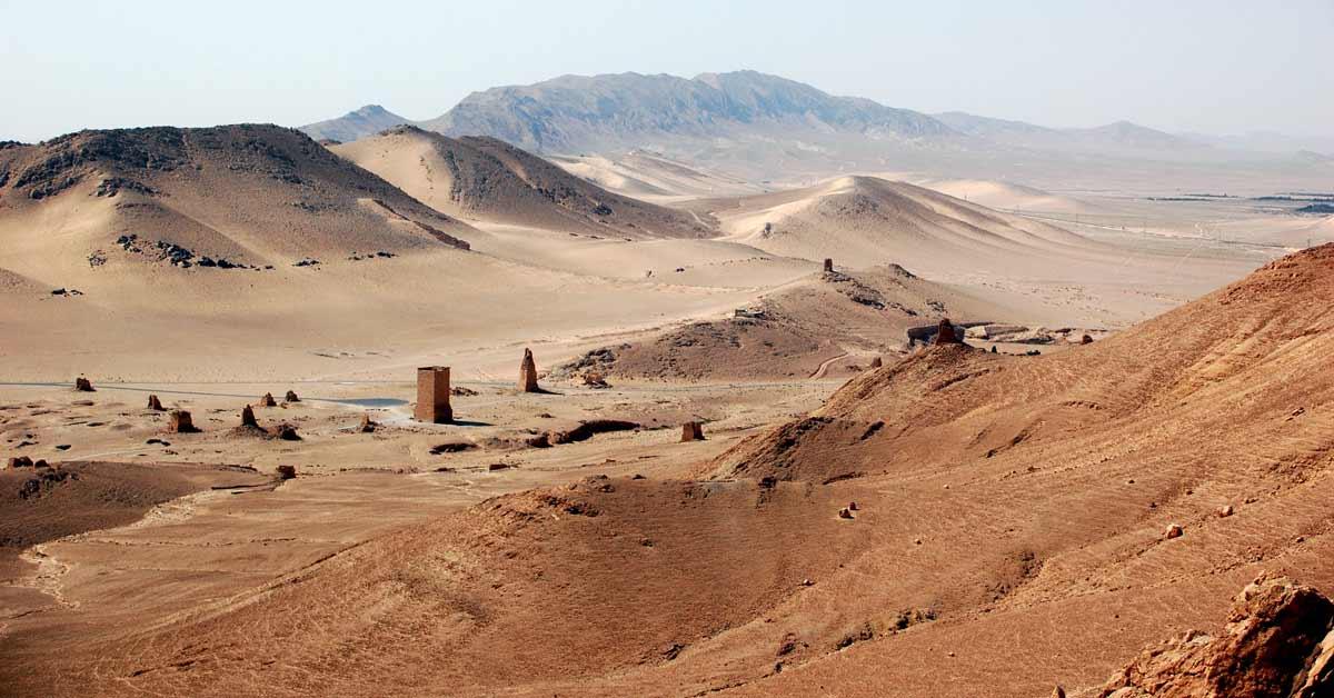Syrische Wüste Al-Badiya