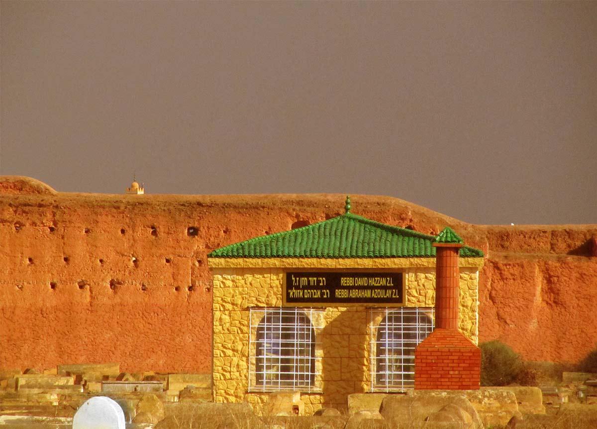 Jüdischer Friedhof in Marrakesch, Pavillon