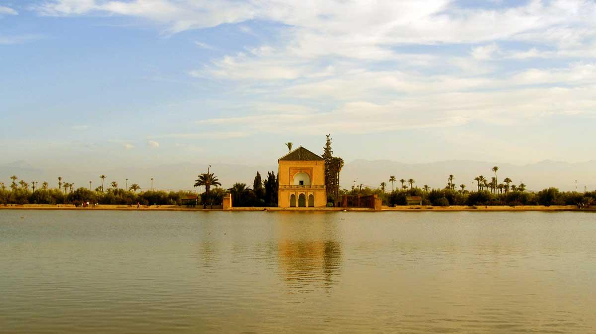 Der Menara-Garten in Marrakesch