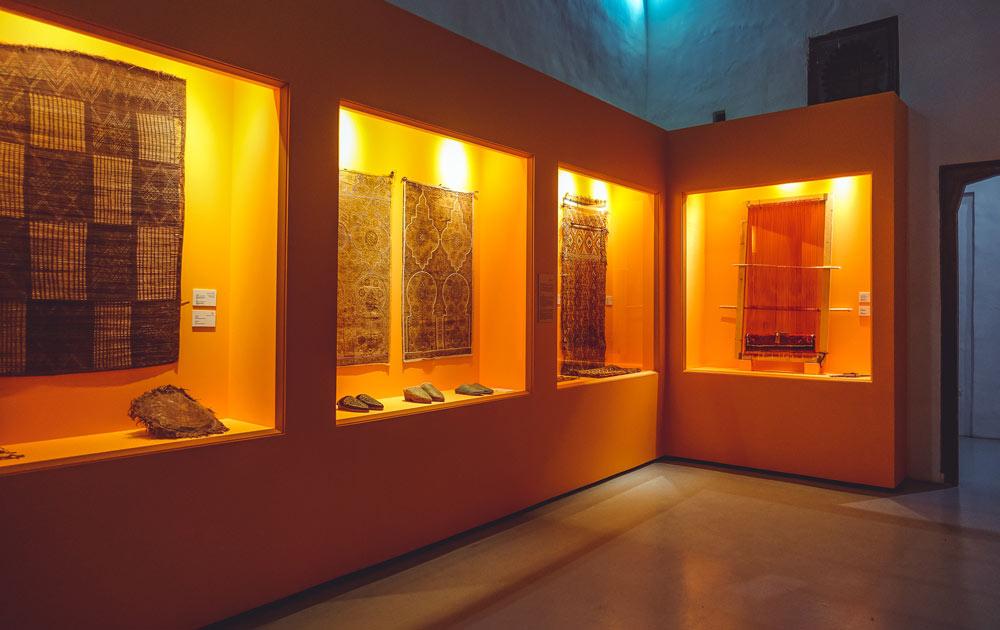 Ausstellung im Museum Dar Si Said