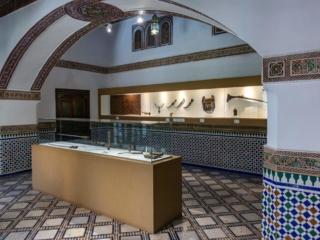 In Dar Si Said Museum in Marrakesch