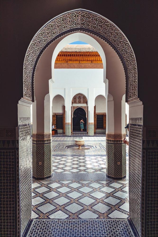 Das Museum Dar Si Said in Marrakesch