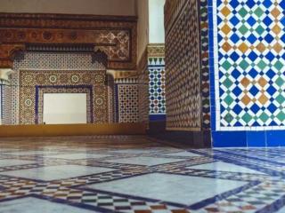 Fliesen im Museum Dar Si Said Marrakesh