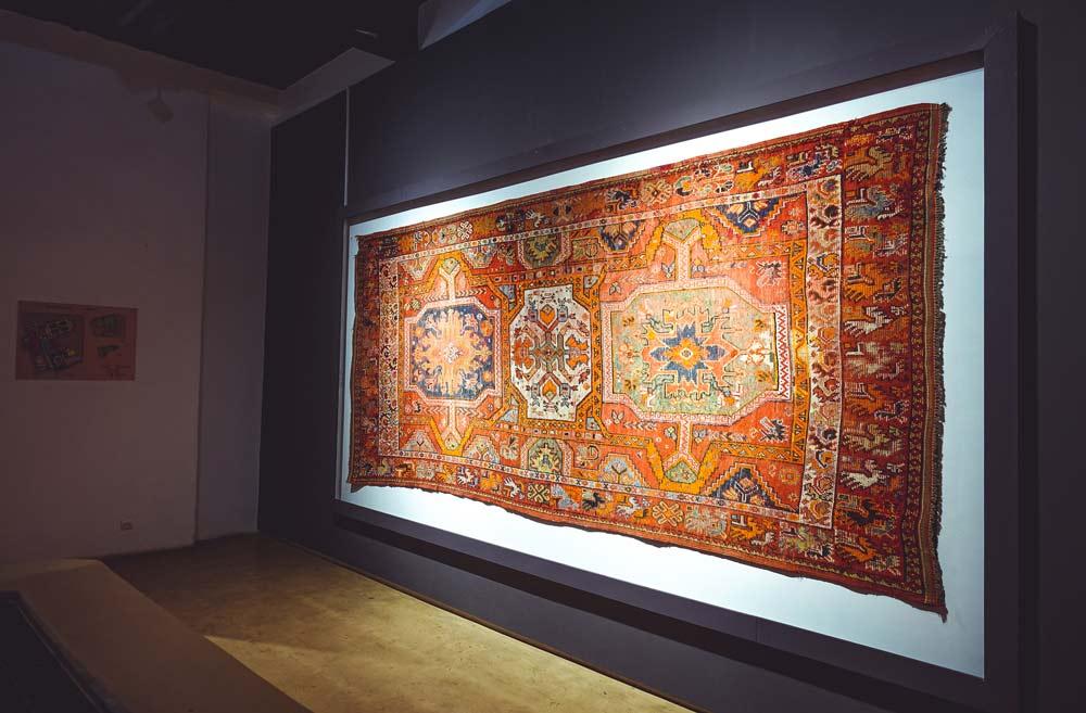 Teppich im Museum Dar Si Said in Marrakesch