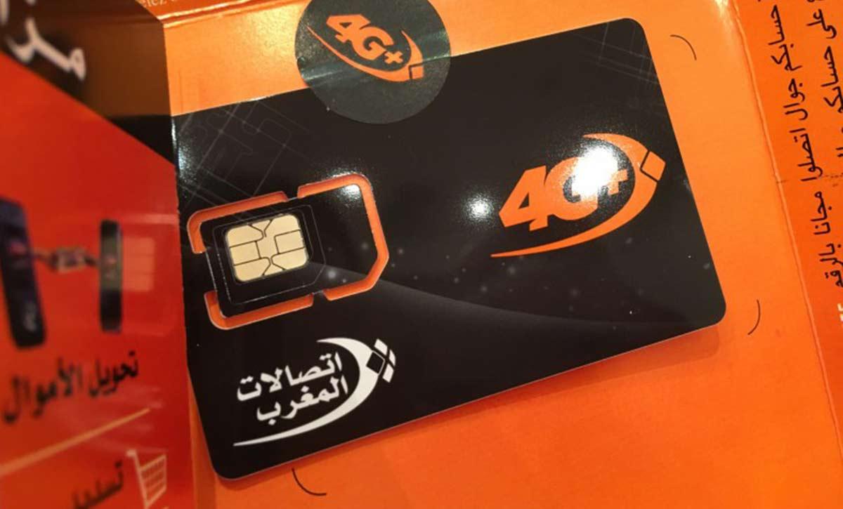 Prepaid SIM Karte Marokko von Telecom Maroc