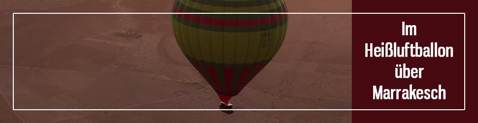 Heissluftballontour Marrakesch