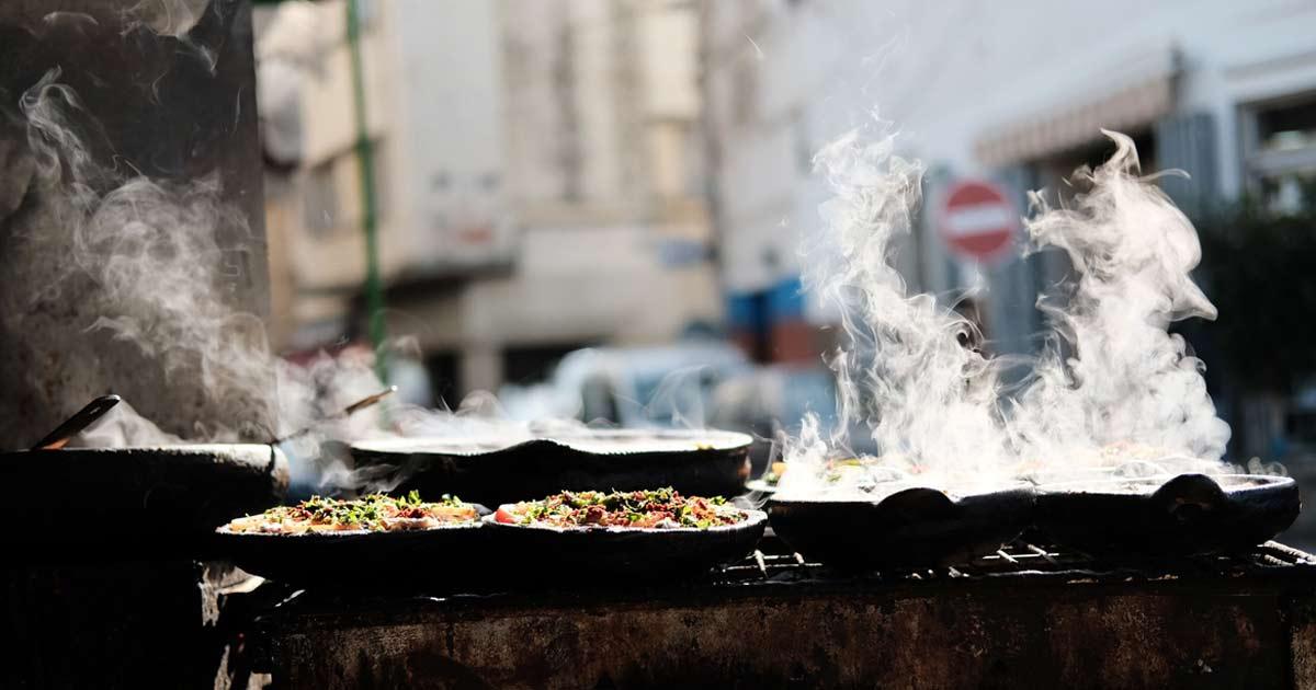 Garküchen in Marokko