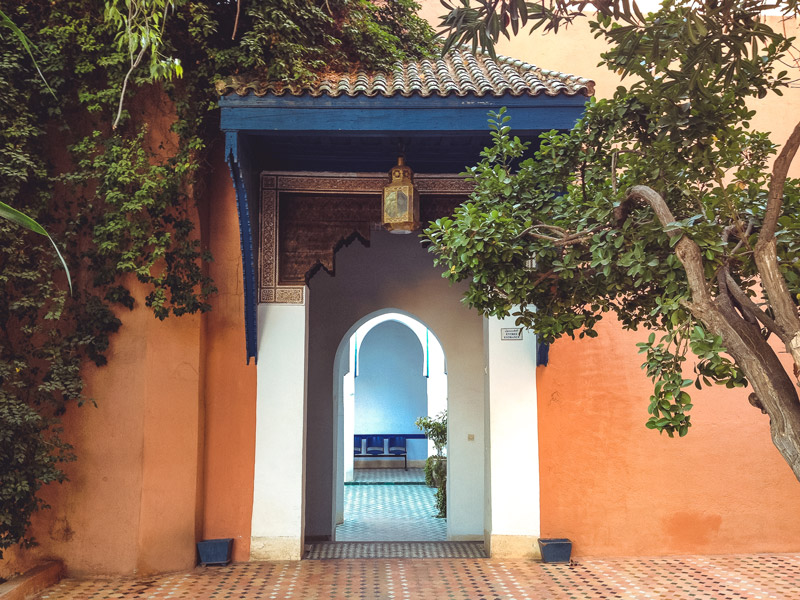 Bahia-Palast Marrakesch Kleines Riad