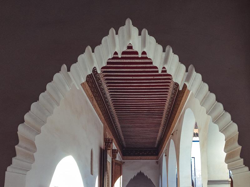 Kunsthandwerk im Bahia-Palast Marrakesch