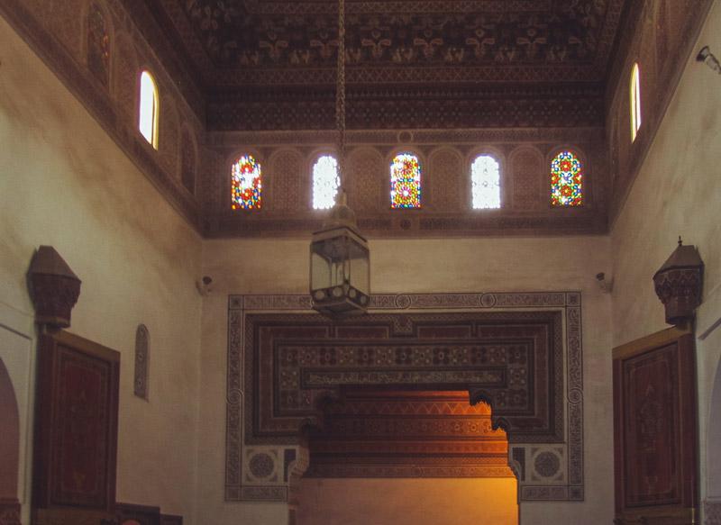 Im kleinen Riad im Bahia-Palast in Marrakesch