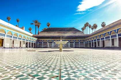 Bahia-Palast Marrakesch