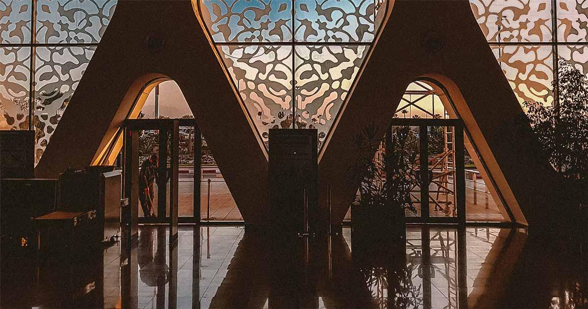 Flughafen Menara Marrakesch
