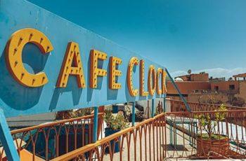 Cafès und Restaurants in Marrakesch: Das Café Clock