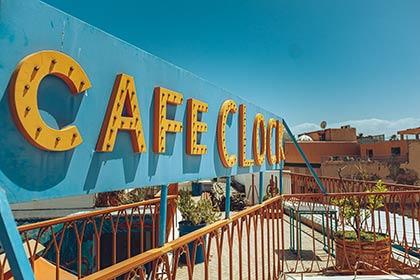 Cafè Clock Marrakesch