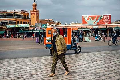 Marokko Marrakesch Corona