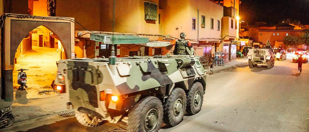 Militär verkündet in Marokko Corona Ausgangssperre