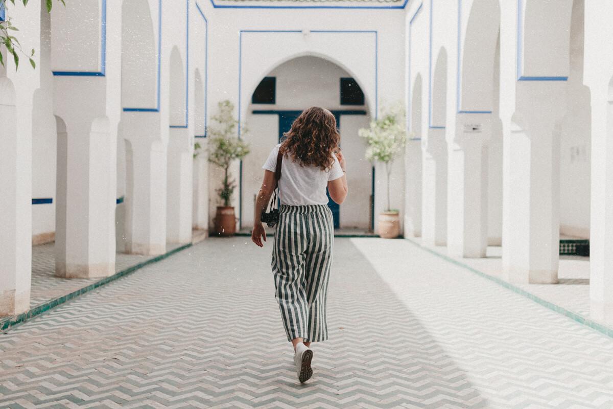 Marrakesch als Frau