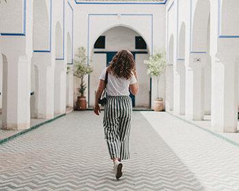 alleinreisede frau marrakesch