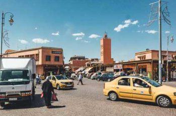 Taxis in Marrakesch