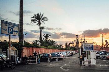 Parken in Marrakesch